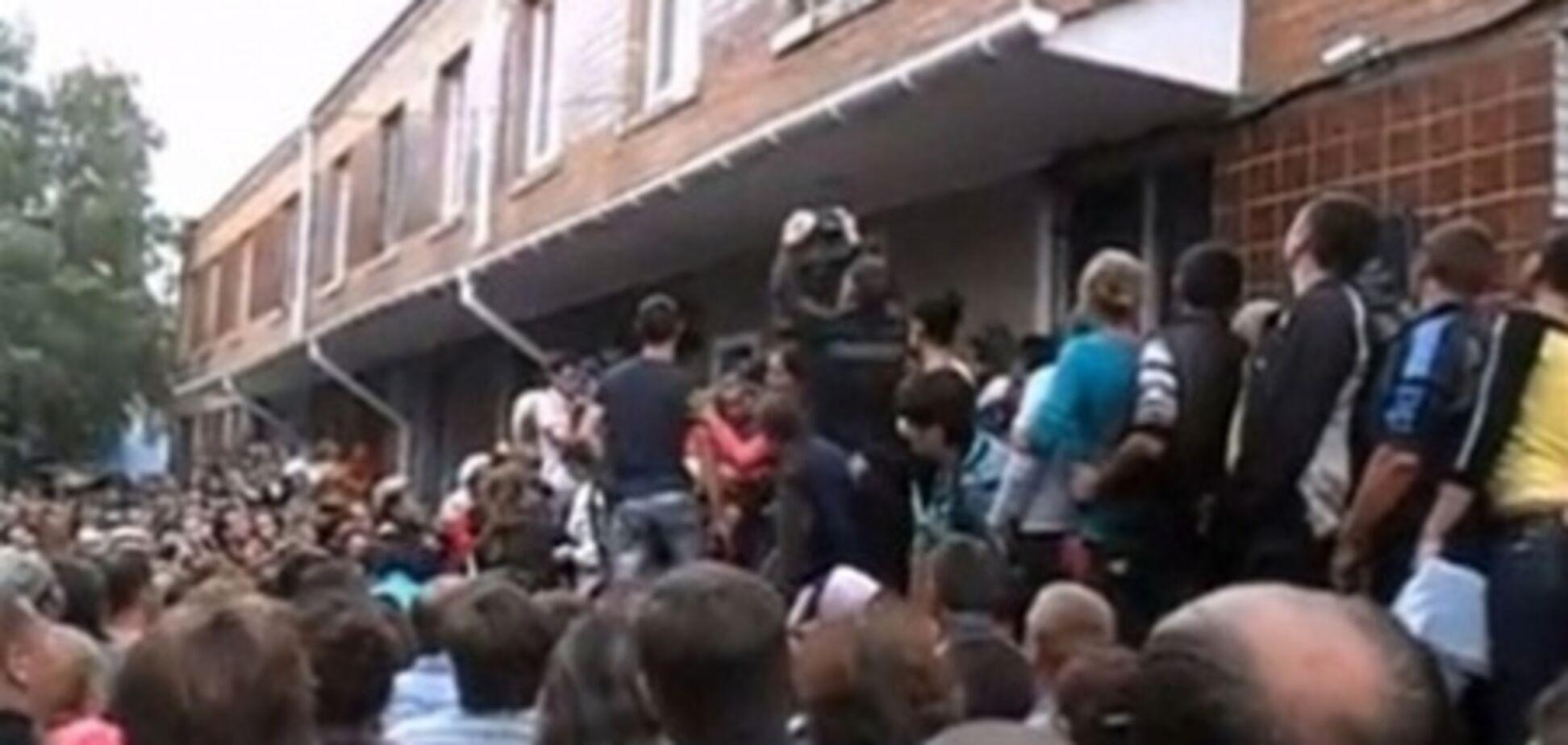 У Врадіївці проходить мітинг проти дій міліції