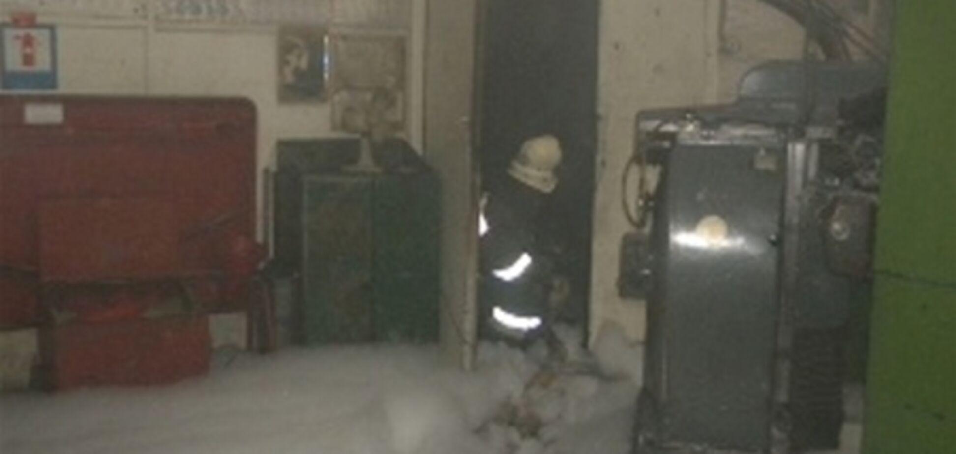В Хмельницком горел цех предприятия 'НОВАТОР'