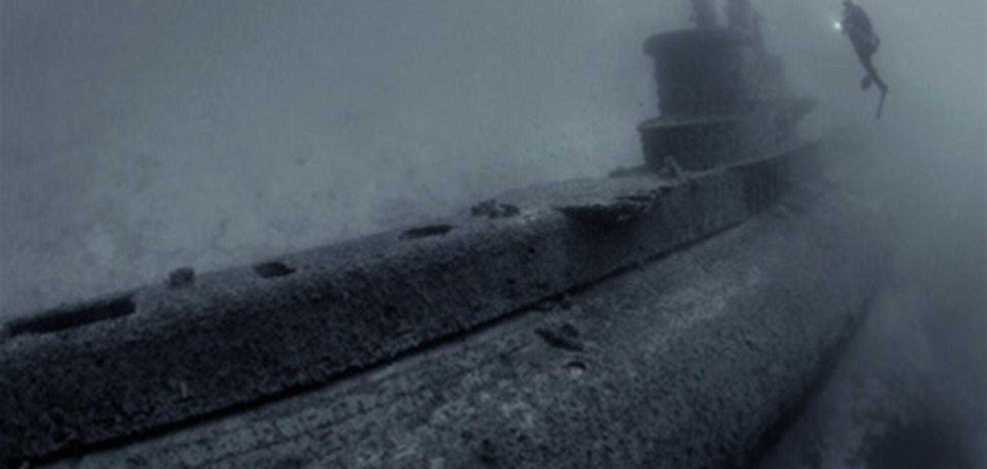 У Чорному морі виявили підводний човен, затонулий 70 років тому