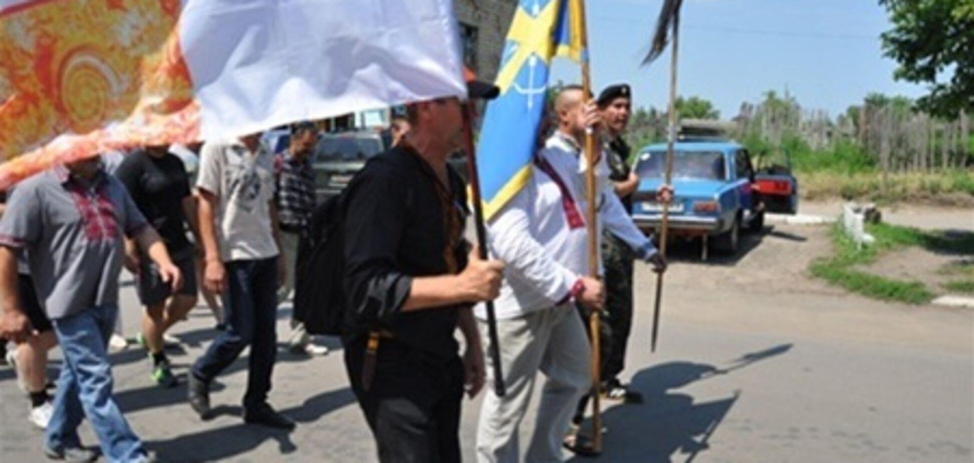 Активисты вручили врадиевской милиции требования и пошли в Киев