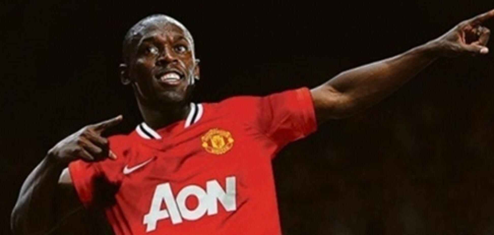 Самый быстрый человек планеты сыграет за 'Манчестер Юнайтед'