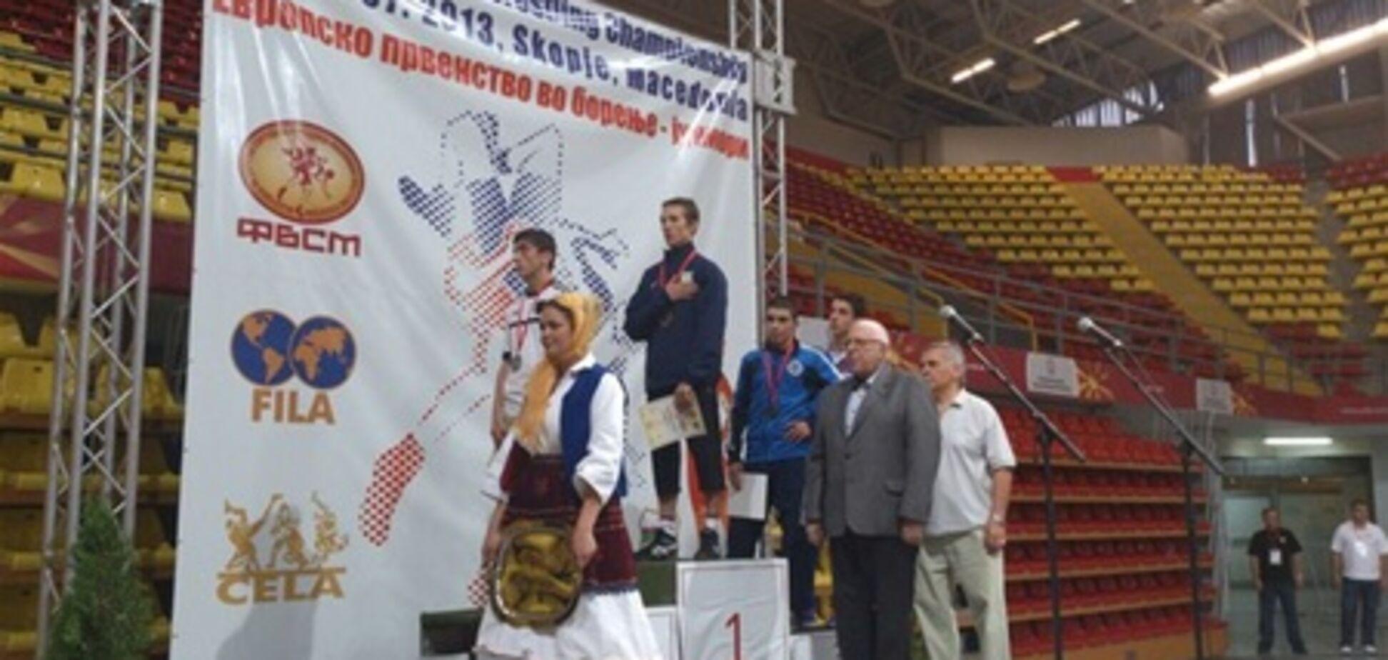 Вадим Кисель отметил чемпионов Европы по греко-римской борьбе