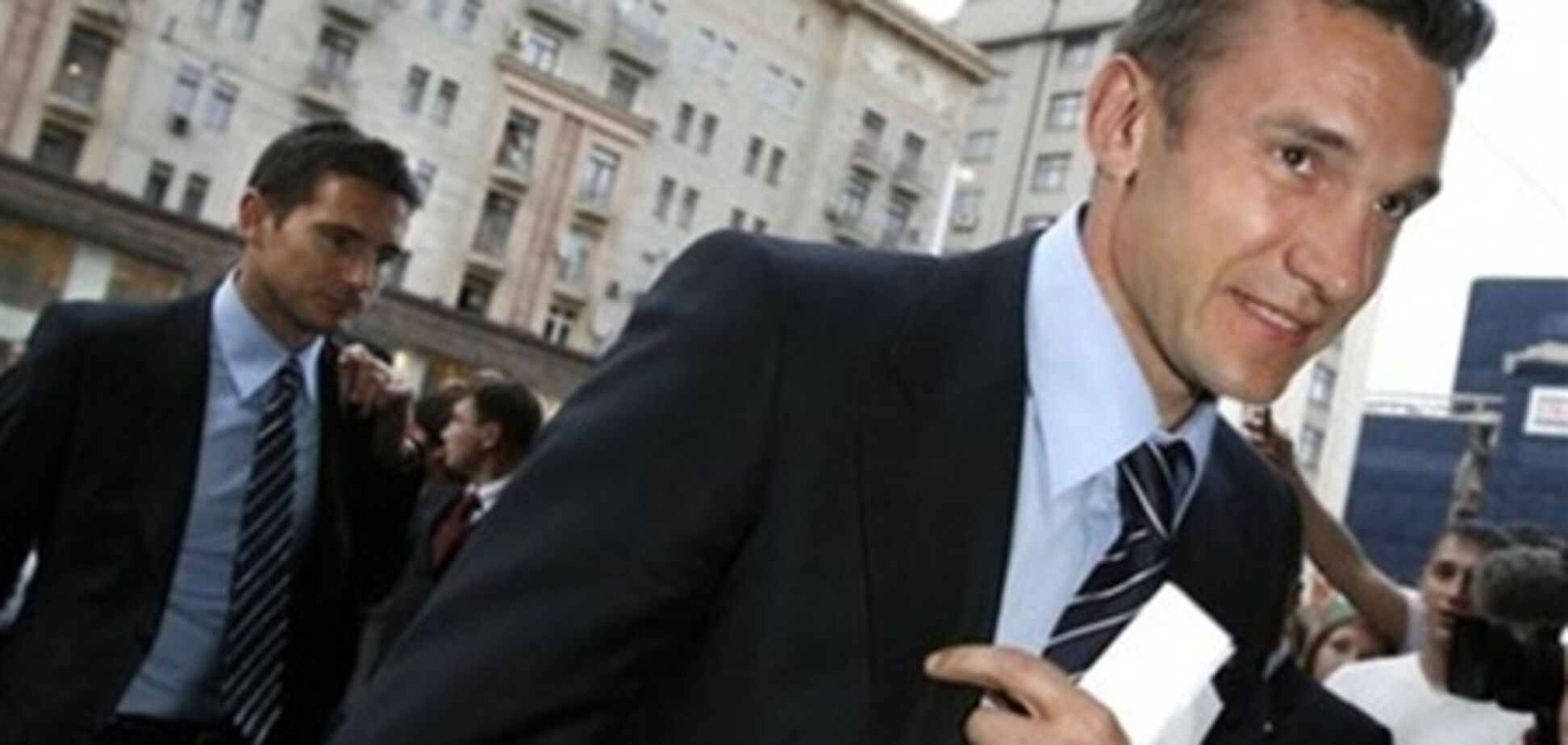 Шевченко відпочив з грузинським міністром