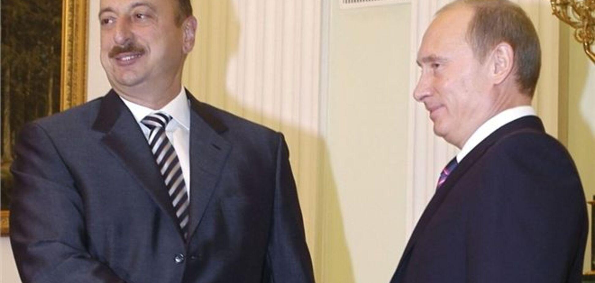 Во время пресс-конференции Путина и Алиева, диктор обматерил Лаврова