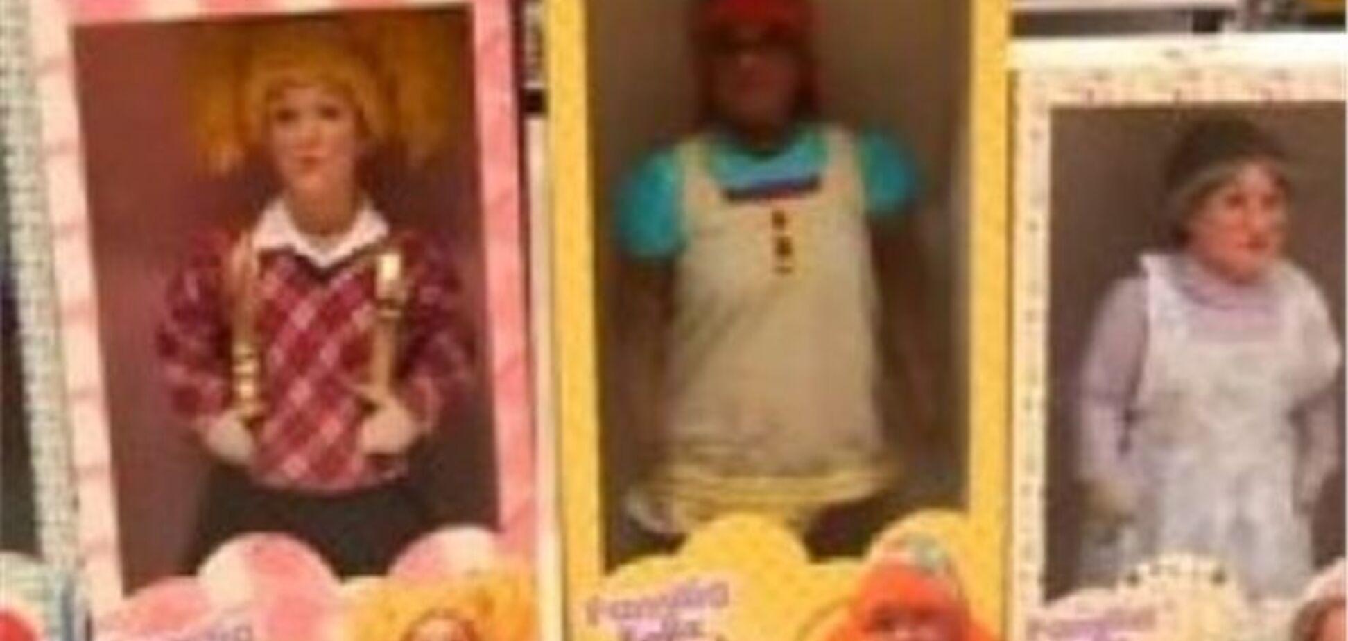 Покупателей довели до срыва розыгрышем с куклами-лилипутами