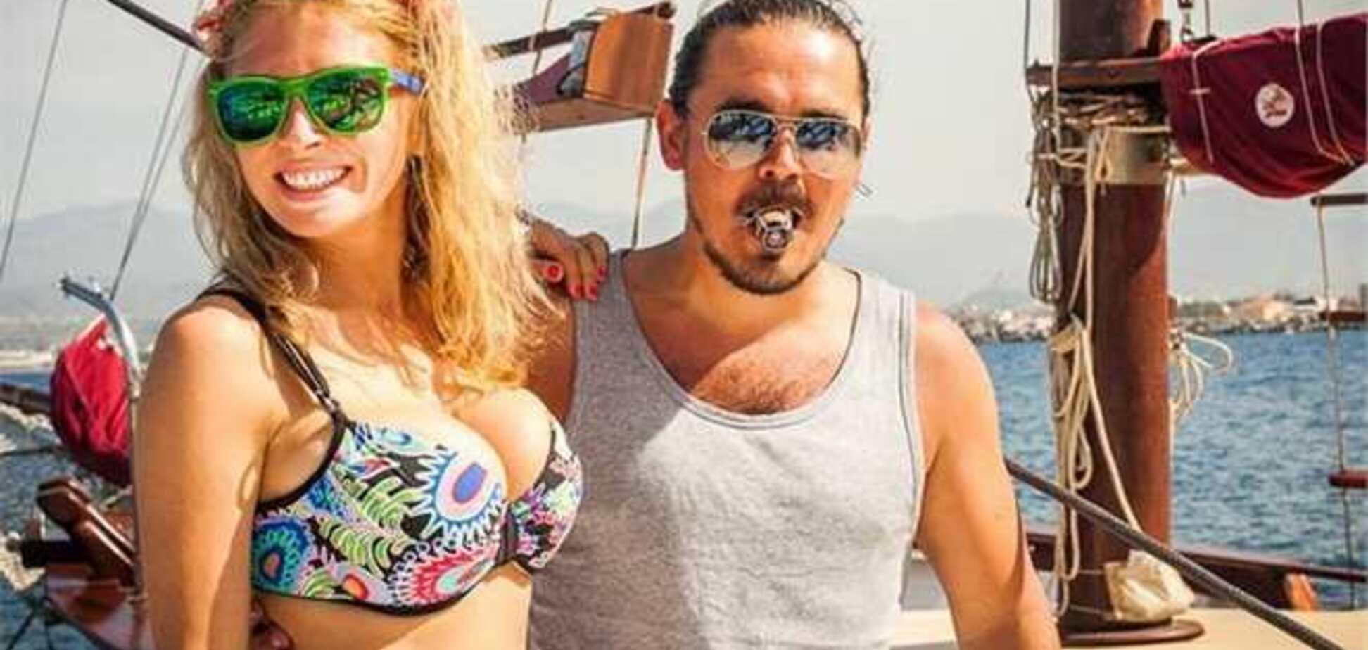 Жена Фагота показала идеальное тело в бикини