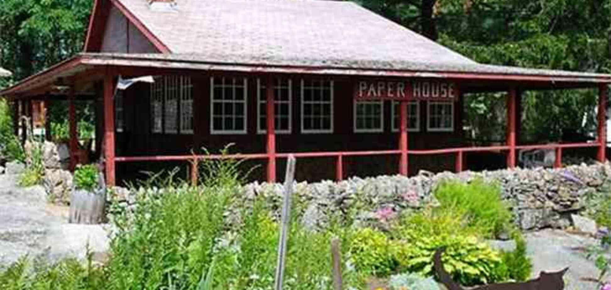 Бумажный дом, построенный 90 лет назад, до сих пор находится в отличном состоянии