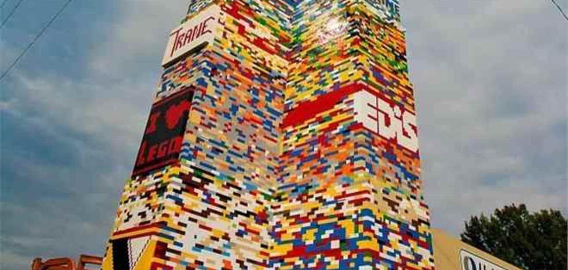 11-этажная башня из LEGO может попасть в Книгу рекордов Гиннесса