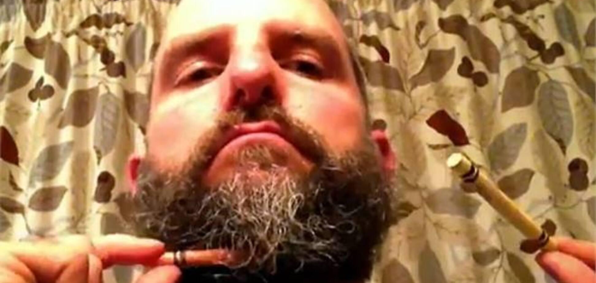 Американец с 'волшебной бородой' взорвал Интернет