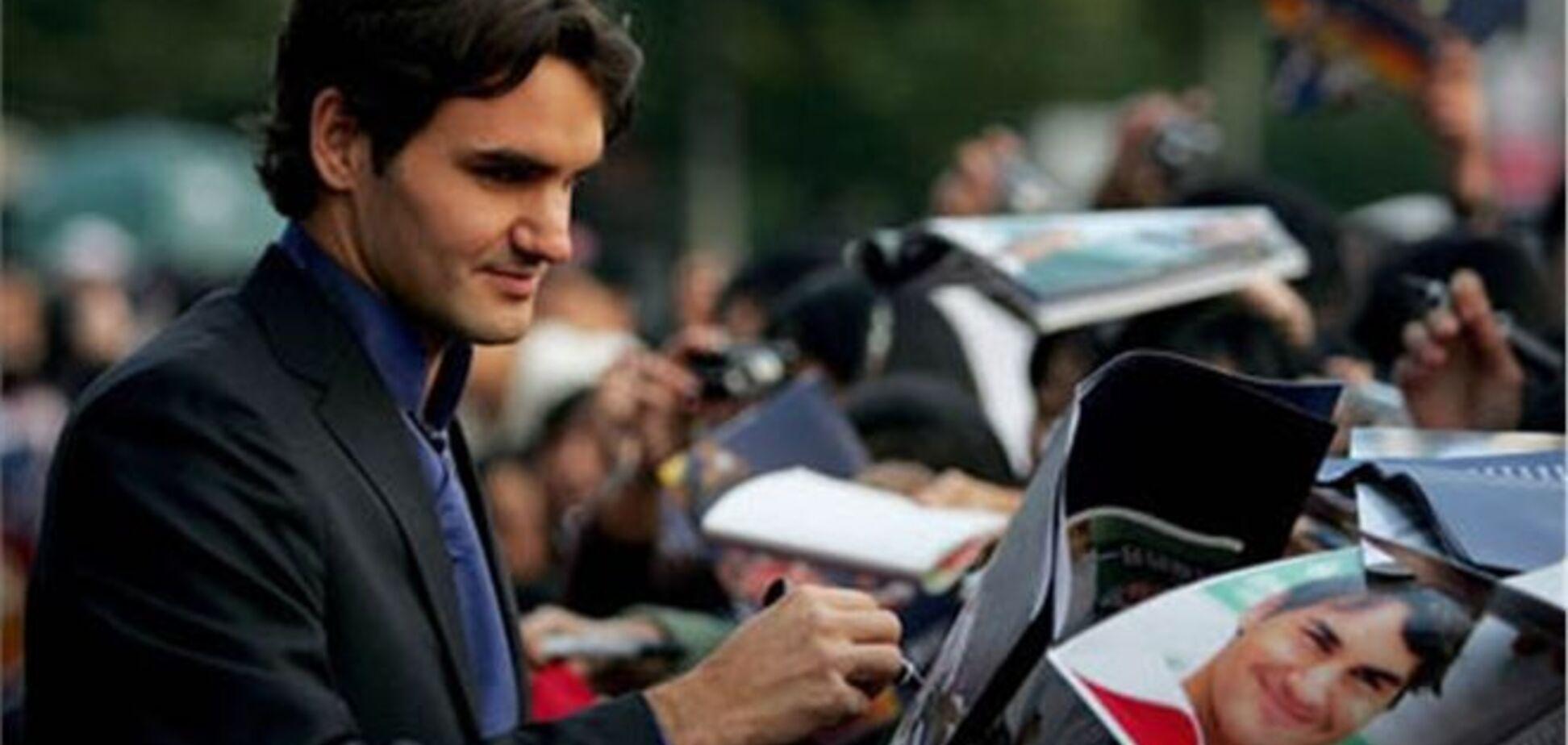Федерера назвали самым высокооплачиваемым теннисистом мира