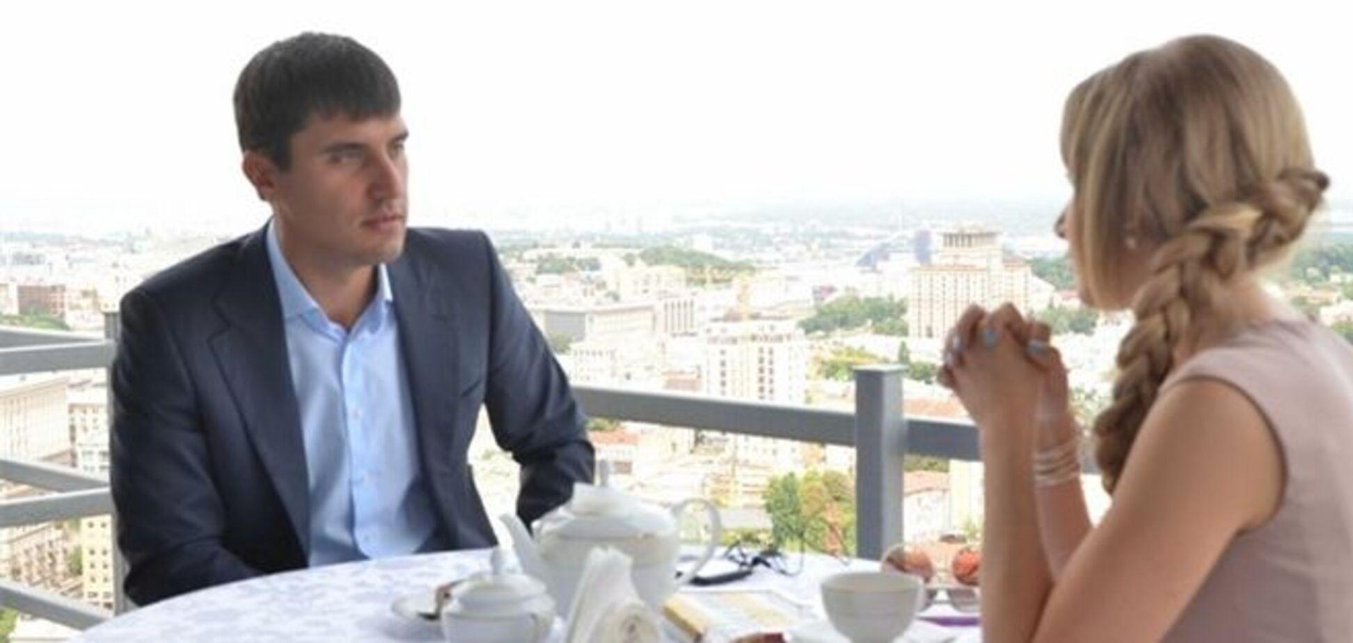 Левченко за завтраком с Березовской