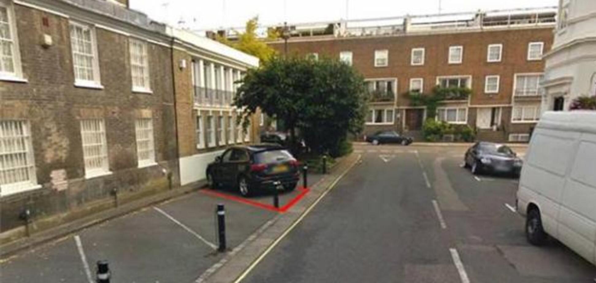 Уличные парковки в Лондоне продаются по ценам квартир