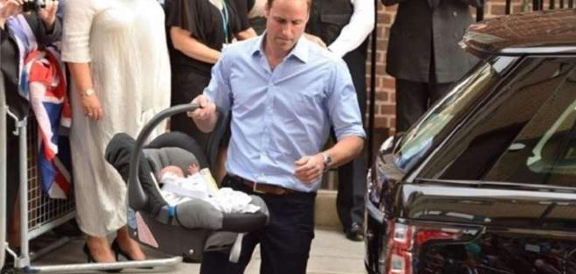 Новорожденный принц Великобритании уже владеет дворцами