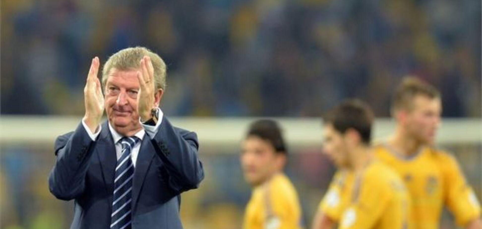 Тренер сборной Англии обрадовался ничьей в Киеве