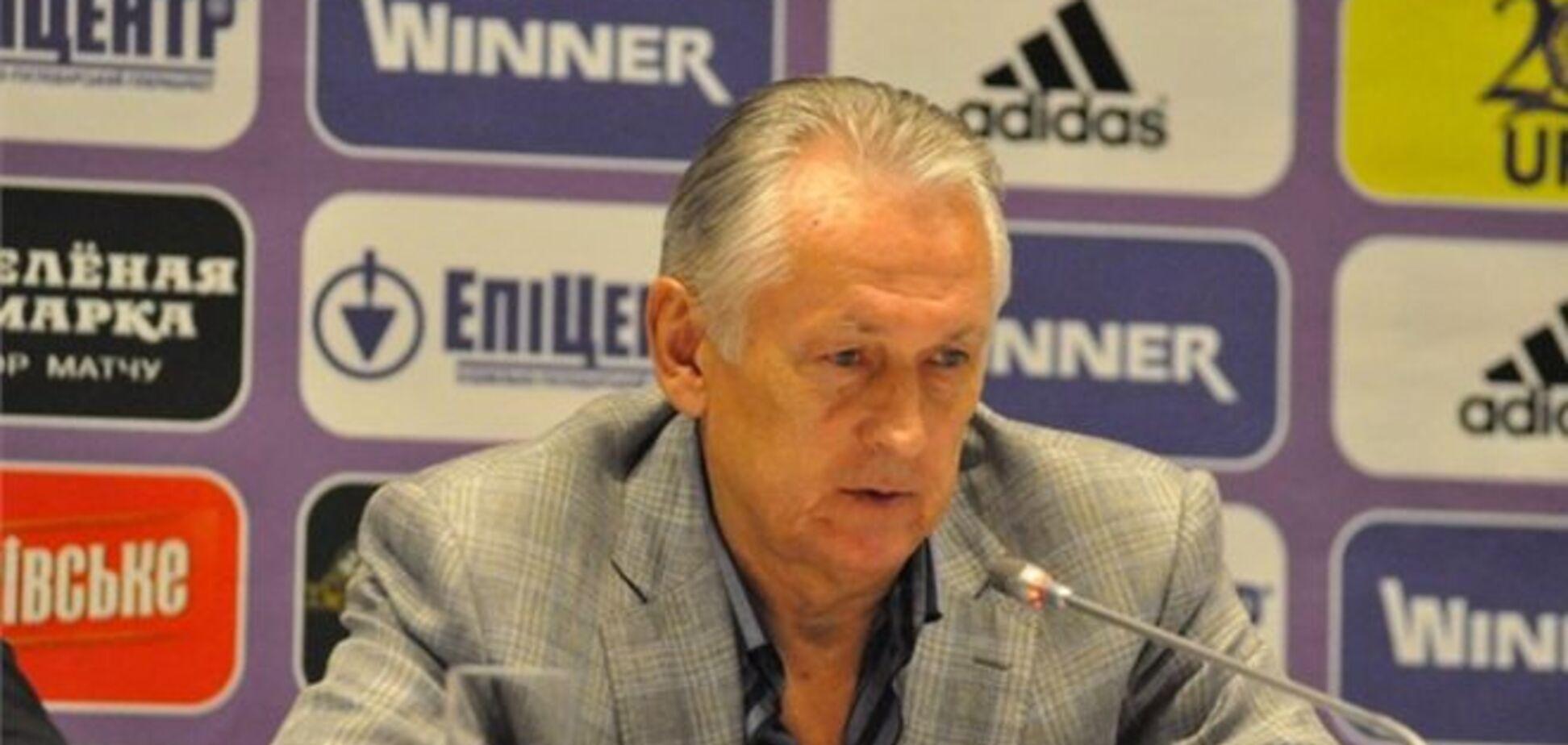Фоменко: с Англией нельзя играть в авантюрный футбол