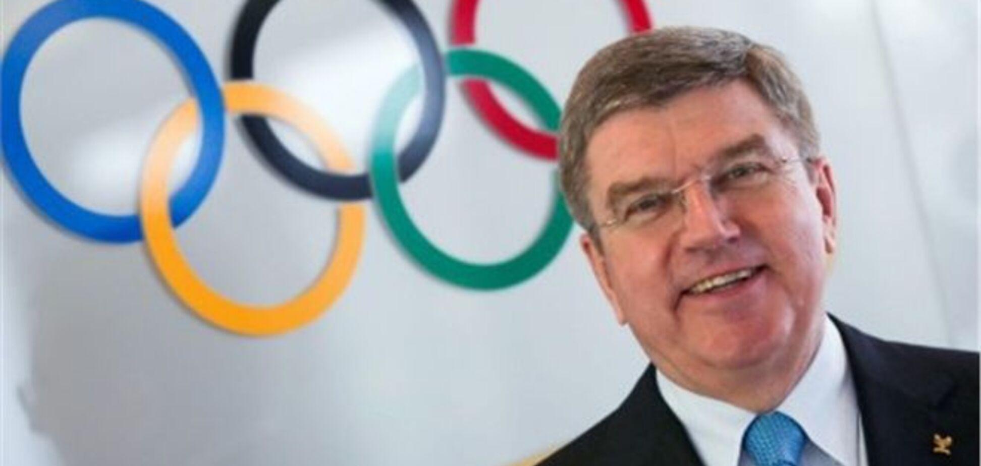 'Необхідно карати': президент МОК висловився про участь Росії в Олімпіаді-2018