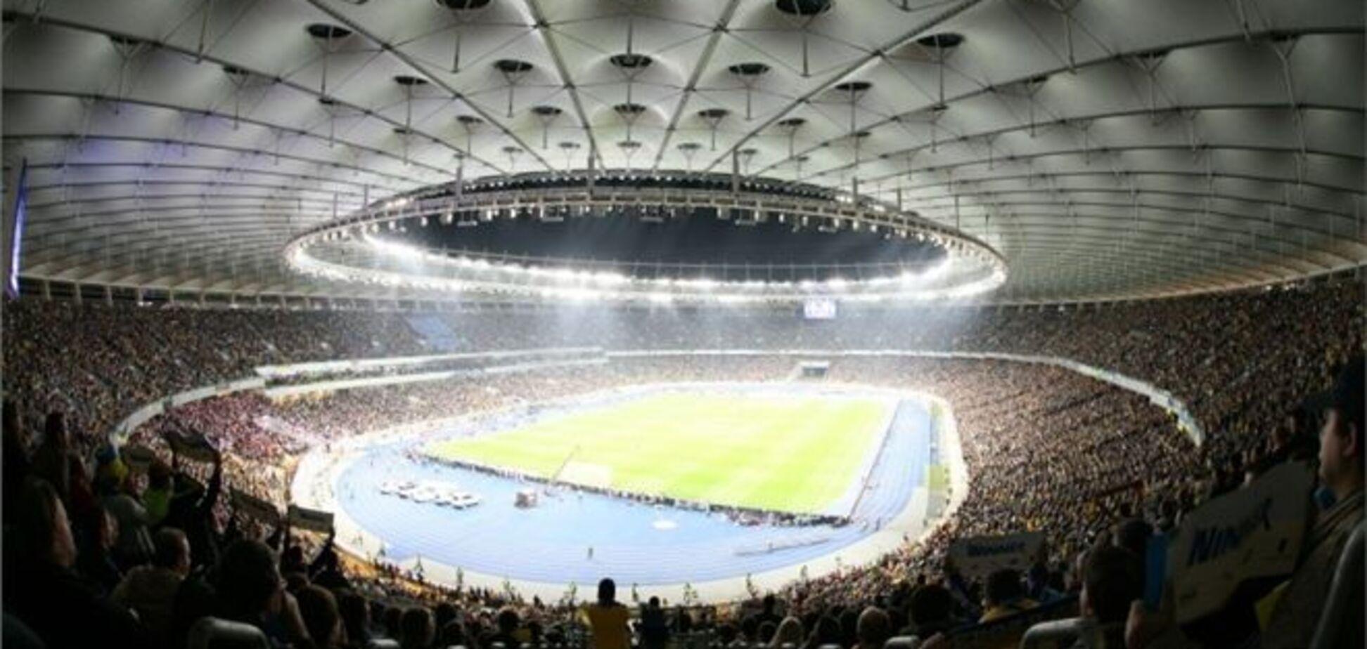 Украина – Англия: 'Олимпийский' обновил рекорд посещаемости