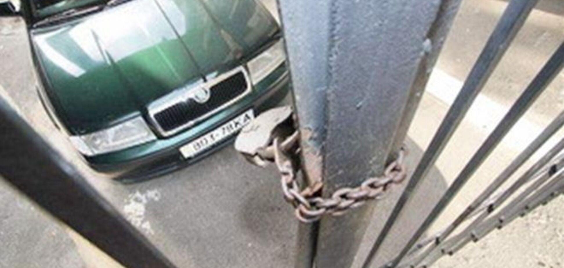 У Донецьку за борги арештовано десять автомобілів