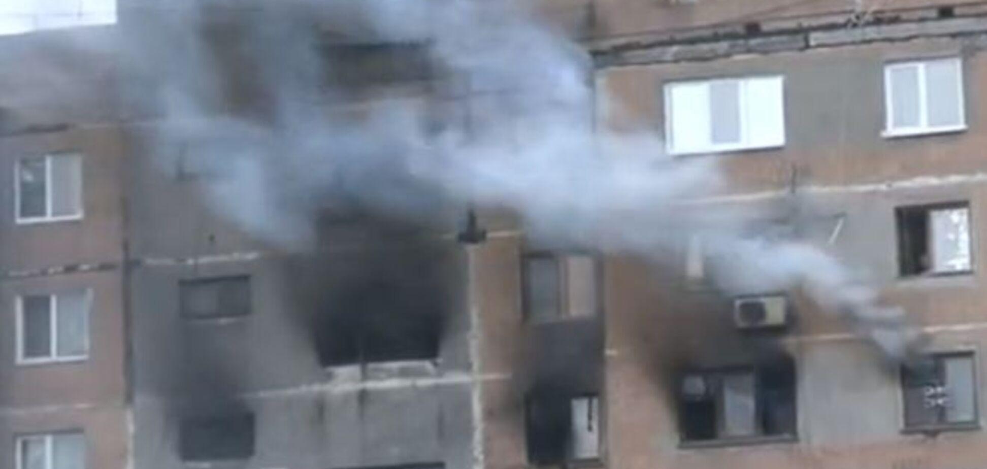 Пожежа в Макіївці знищив дві квартири - прокуратура