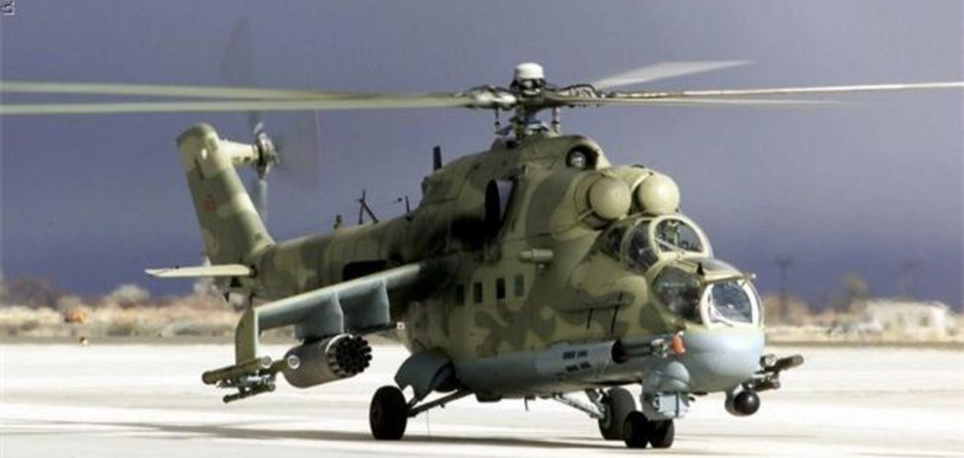 Під Севастополем розбився військовий вертоліт