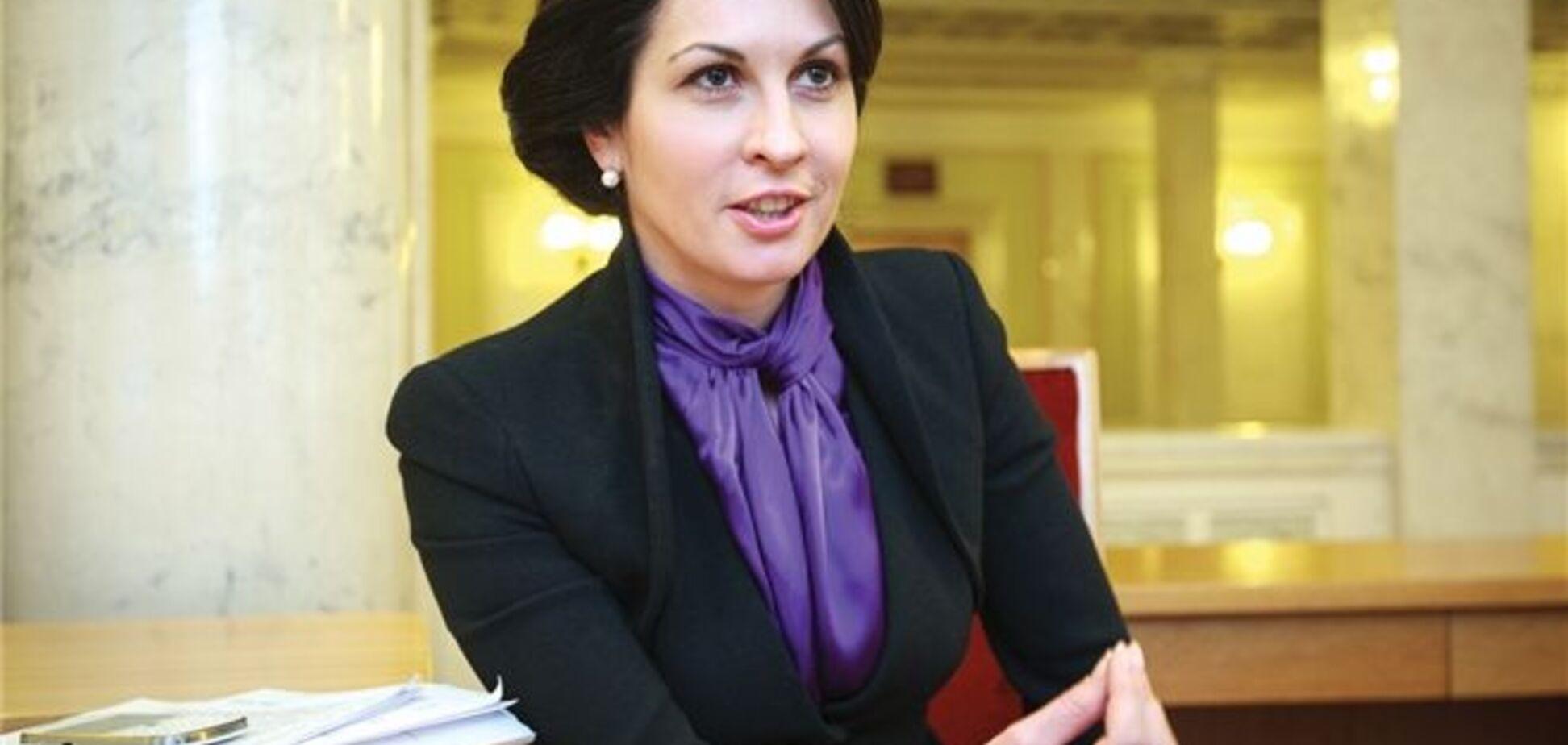 Оксана Калетник: дефіцит бюджету-2013 може досягти 80 млрд гривень