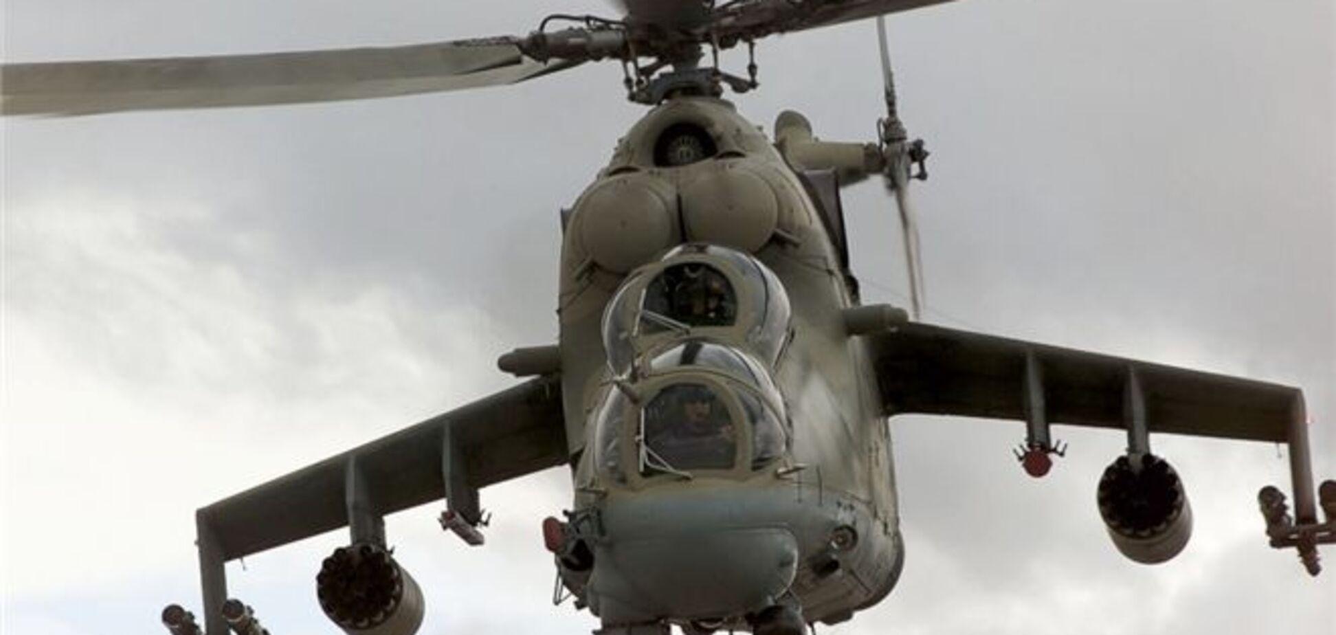 Почалося розслідування падіння військового вертольота в Севастополі