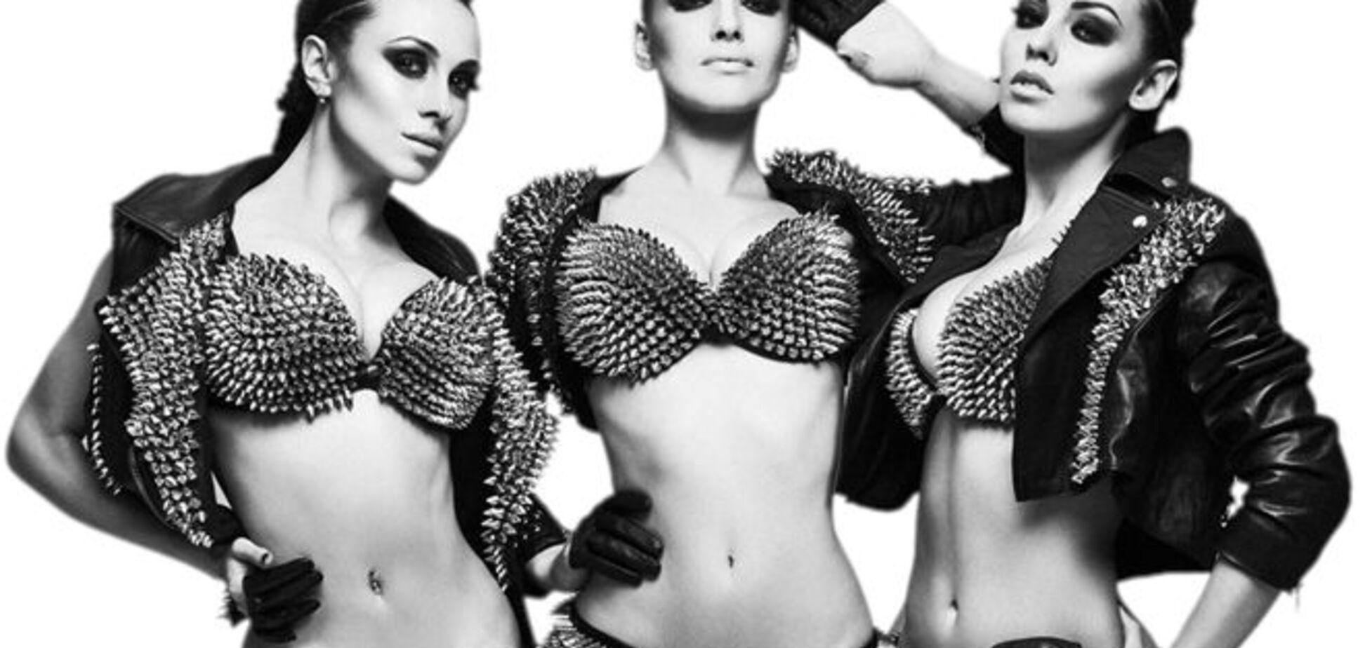 Участницы группы 'Nikita' прошлись голыми по Киеву