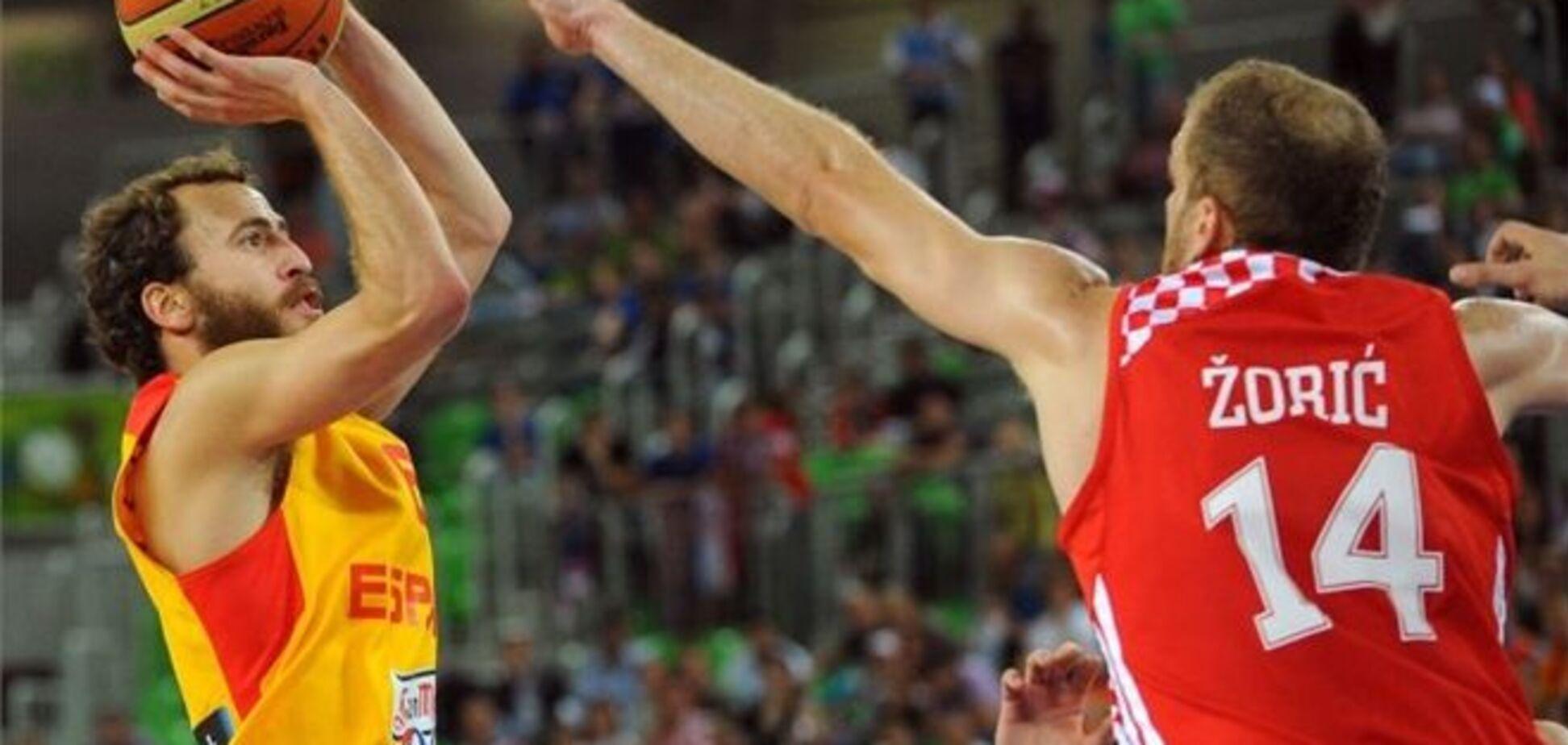 Евробаскет. Испания и Хорватия разыграли 'бронзу'