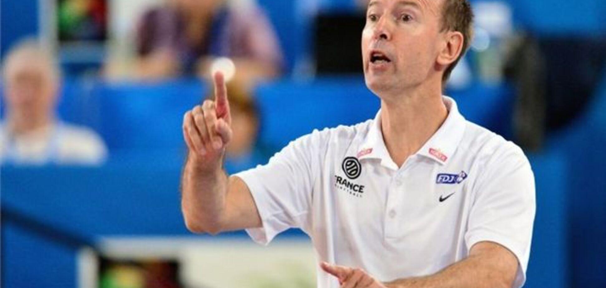 Франция будет защищать титул в Украине с нынешним тренером