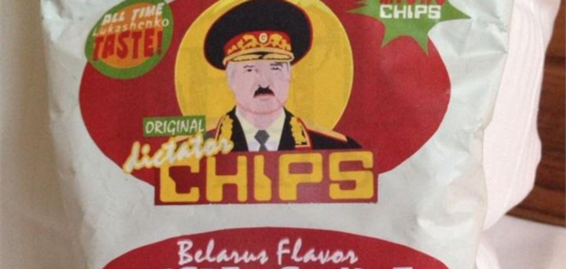 У продажу з'явилися чіпси з портретами Путіна, Каддафі і Лукашенко