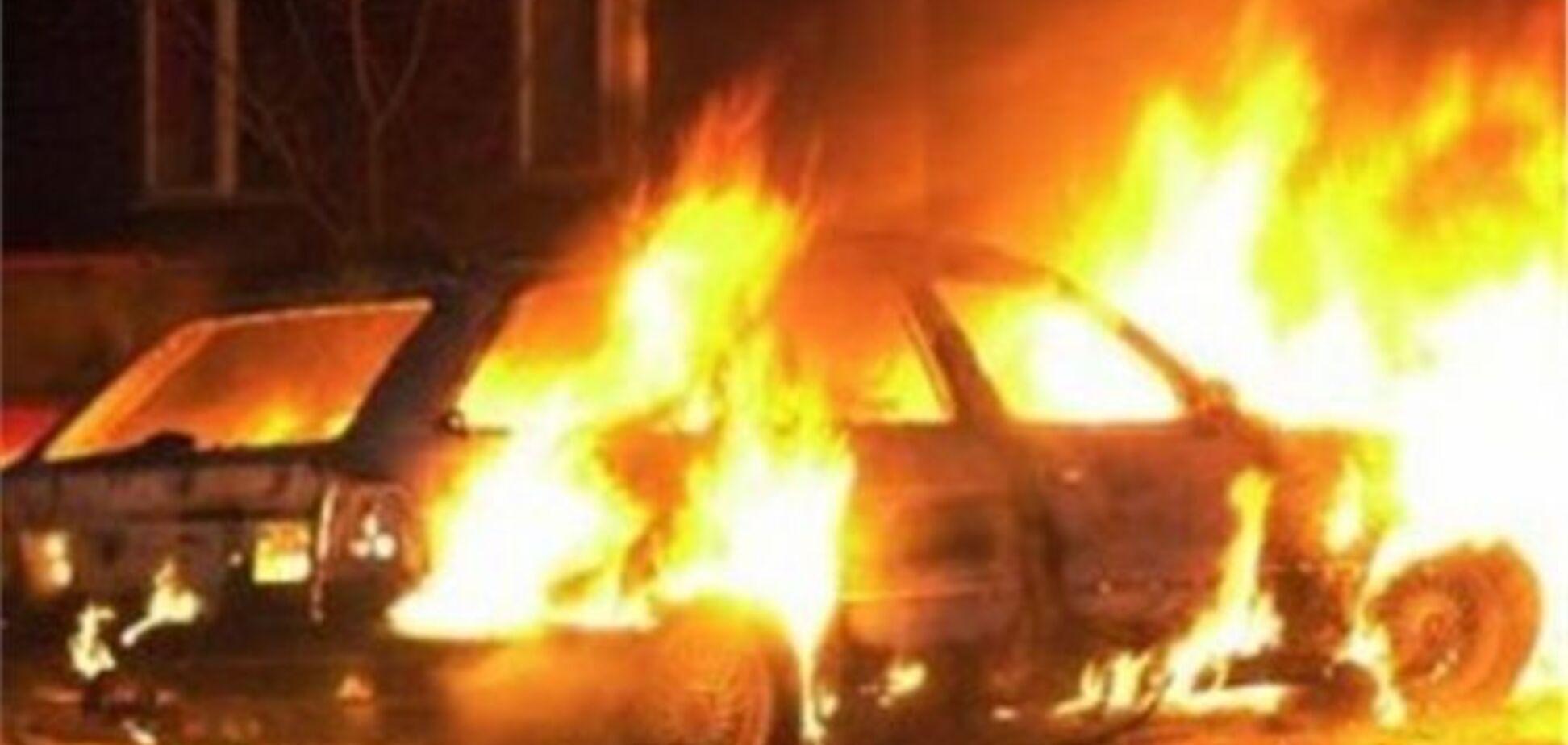 В Ужгороді 'на гарячому' затримали палія автомобілів
