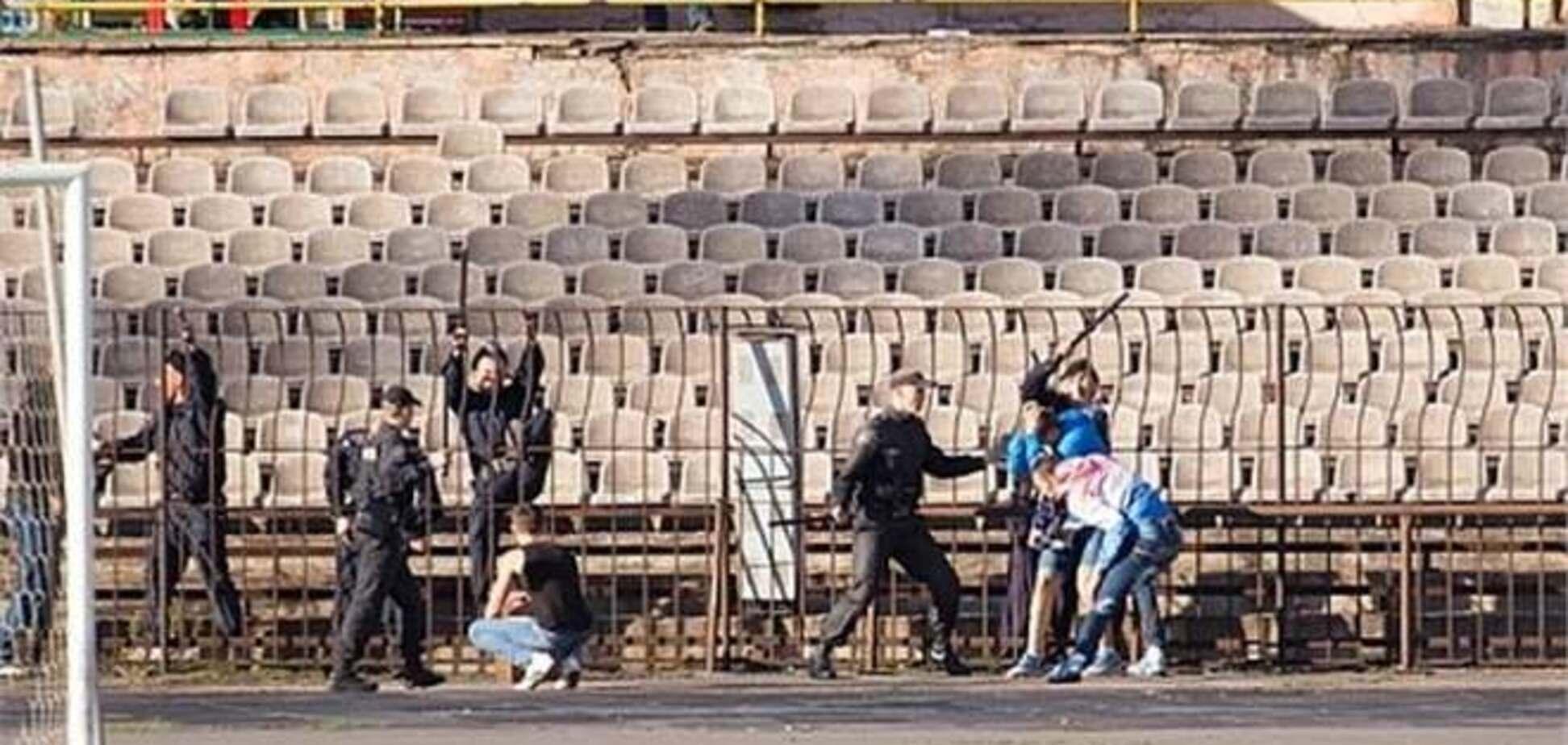 Фанаты обанкротившегося 'Кривбасса' устроили беспорядки