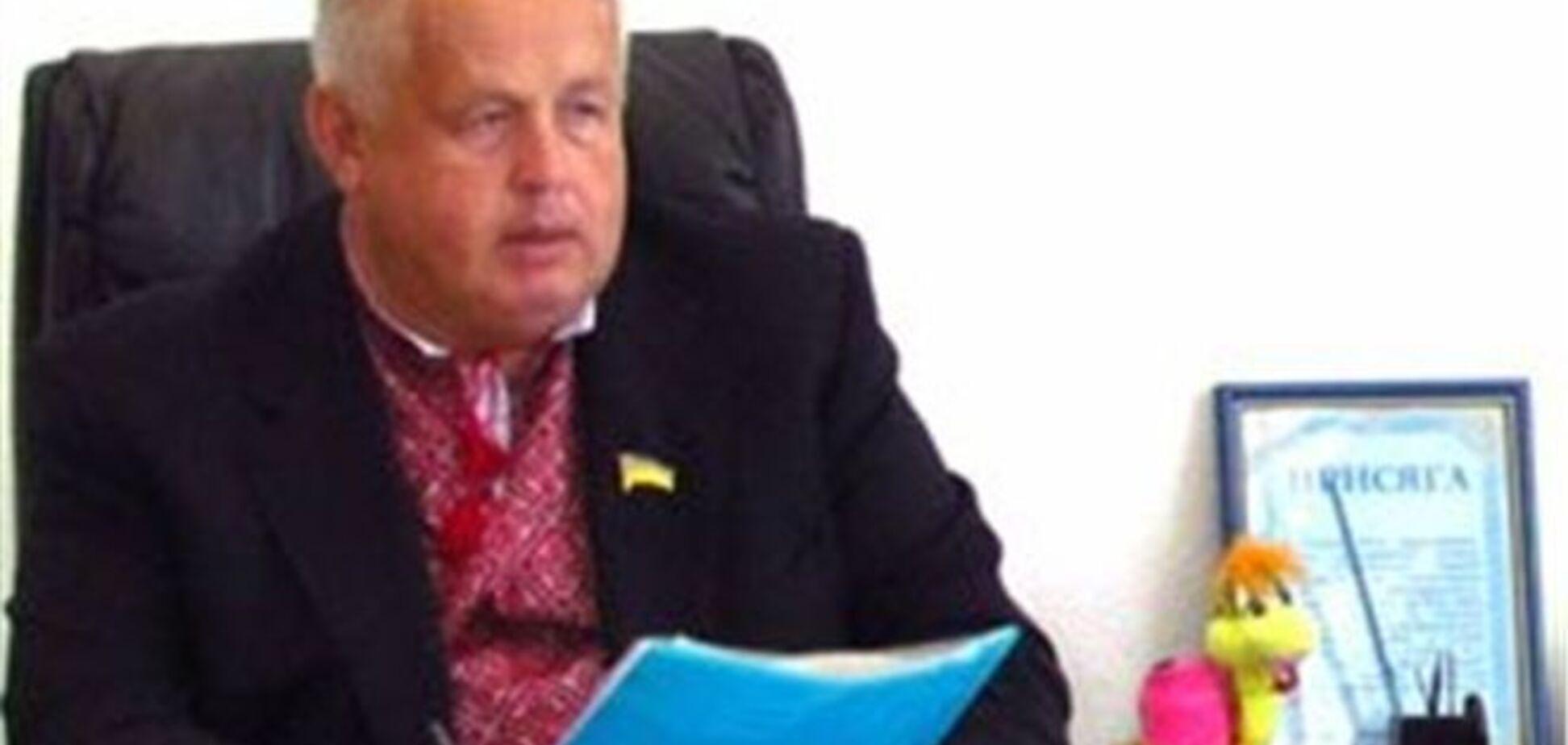 Мер Світловодська заявив про відхід у відставку, але продовжує працювати