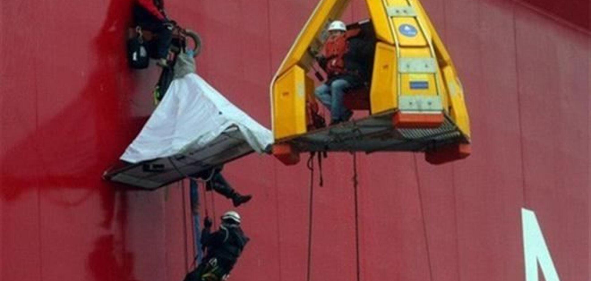 Стало відомо ім'я затриманого українця з судна 'Грінпіс'