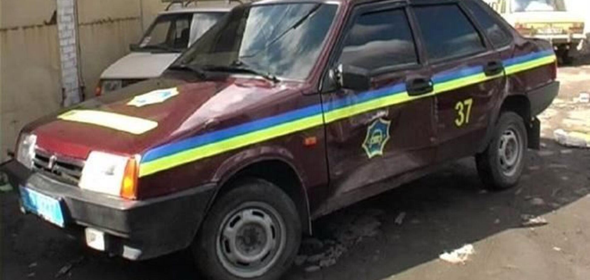 У Києві міліціонер наїхав на дівчину на службовому авто