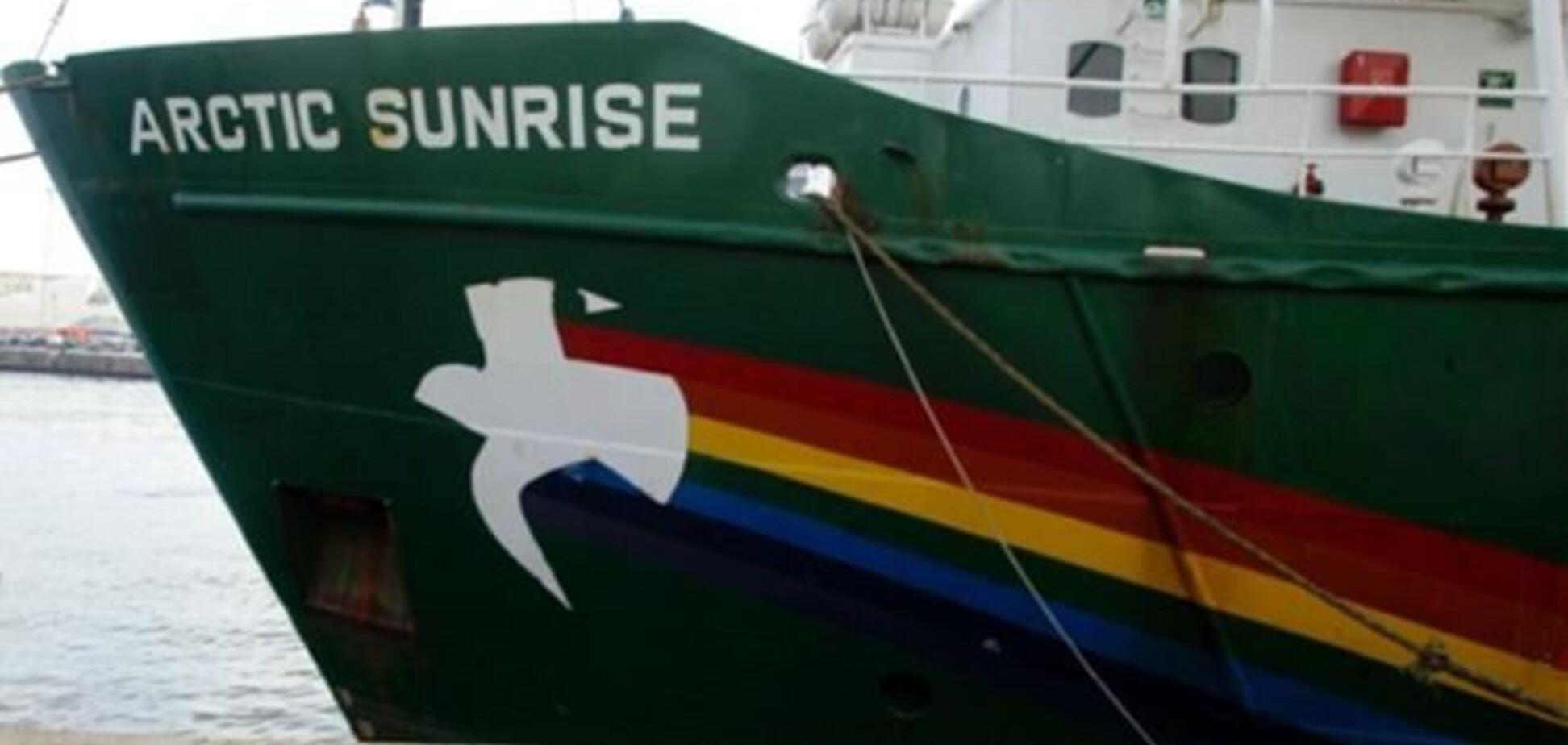 Російський суд заарештував ще чотирьох активістів Greenpeace