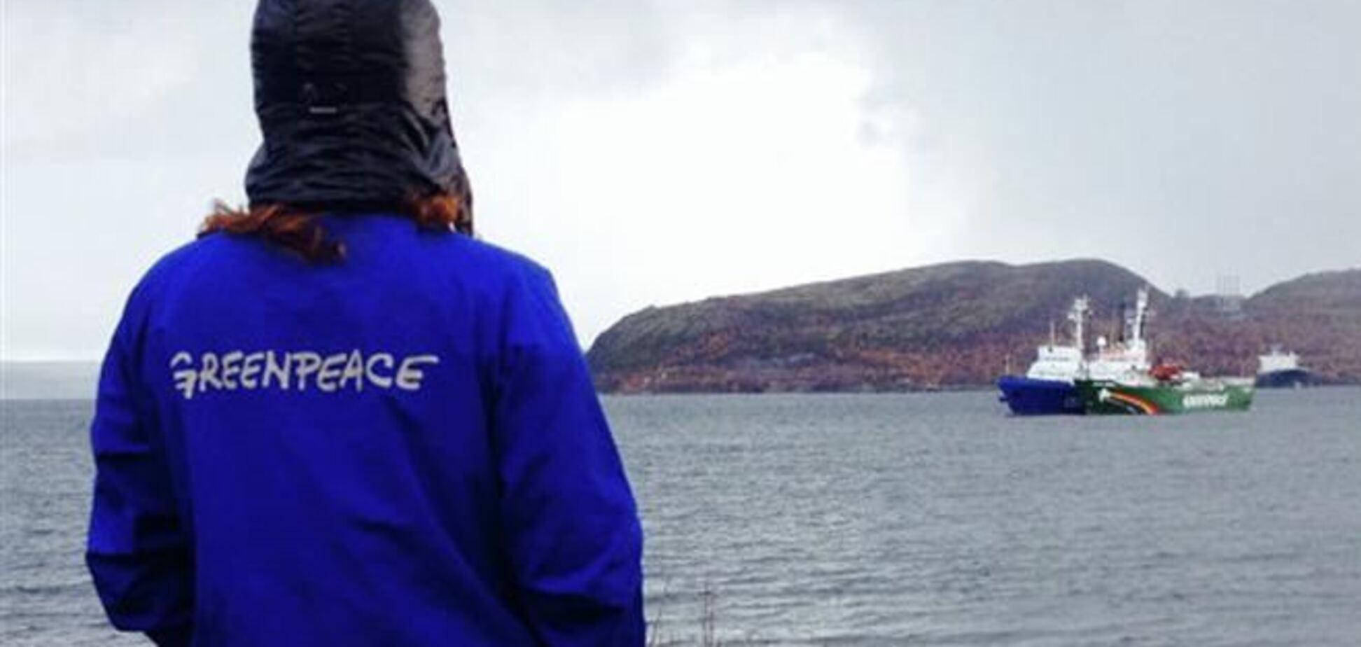 Українця з судна 'Грінпіс' заарештували на два місяці