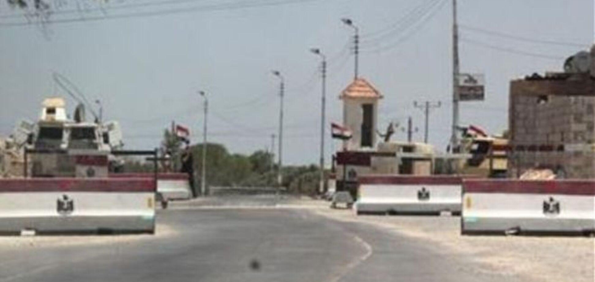 Єгипет завдав ракетних ударів по бойовиках на кордоні з сектором Газа