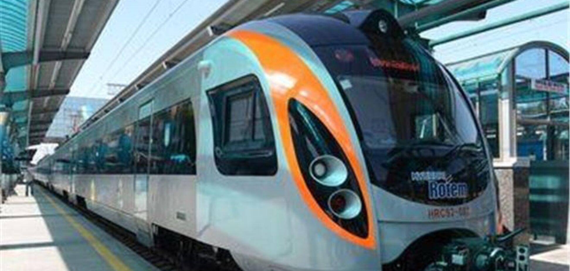 У Hyundai знову проблеми: зламався поїзд Донецьк-Київ