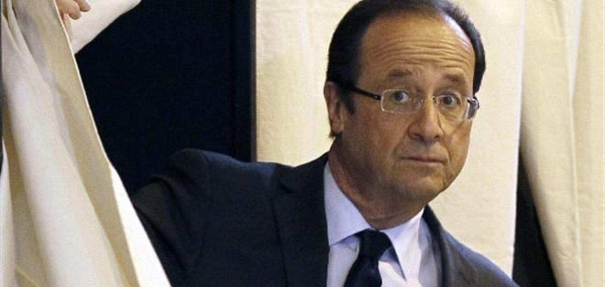 Президент Франції ночує у актриси - ЗМІ