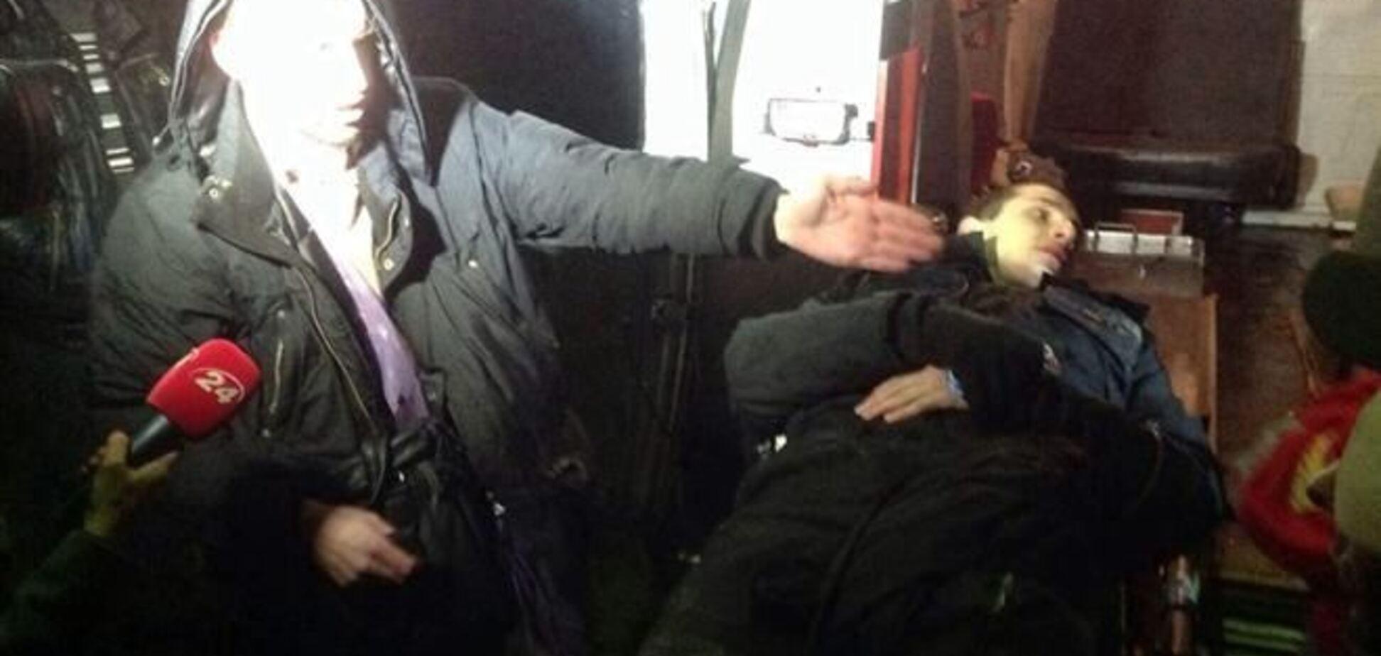 'Беркут' избил пикетирующих суд по делу 'васильковских террористов'
