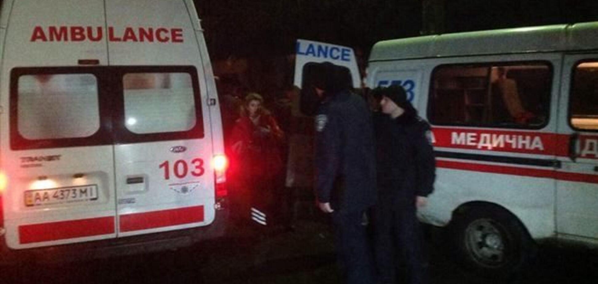 Пять человек госпитализировали после драки с 'Беркутом' под Киево-Святошинским судом