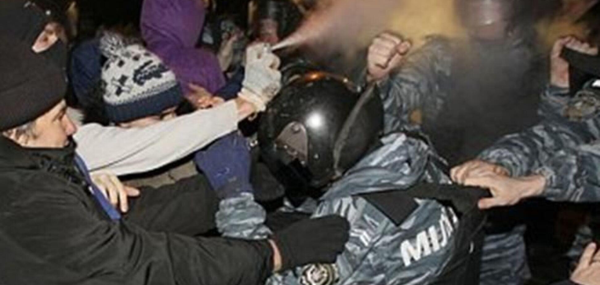 'Беркут' спрятался, активисты ушли из-под суда
