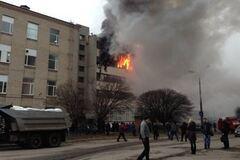 После пожара на харьковском 'Хартроне' начались увольнения