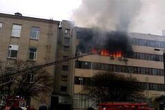 Руководитель горевшей ювелирки в Харькове стал подозреваемым