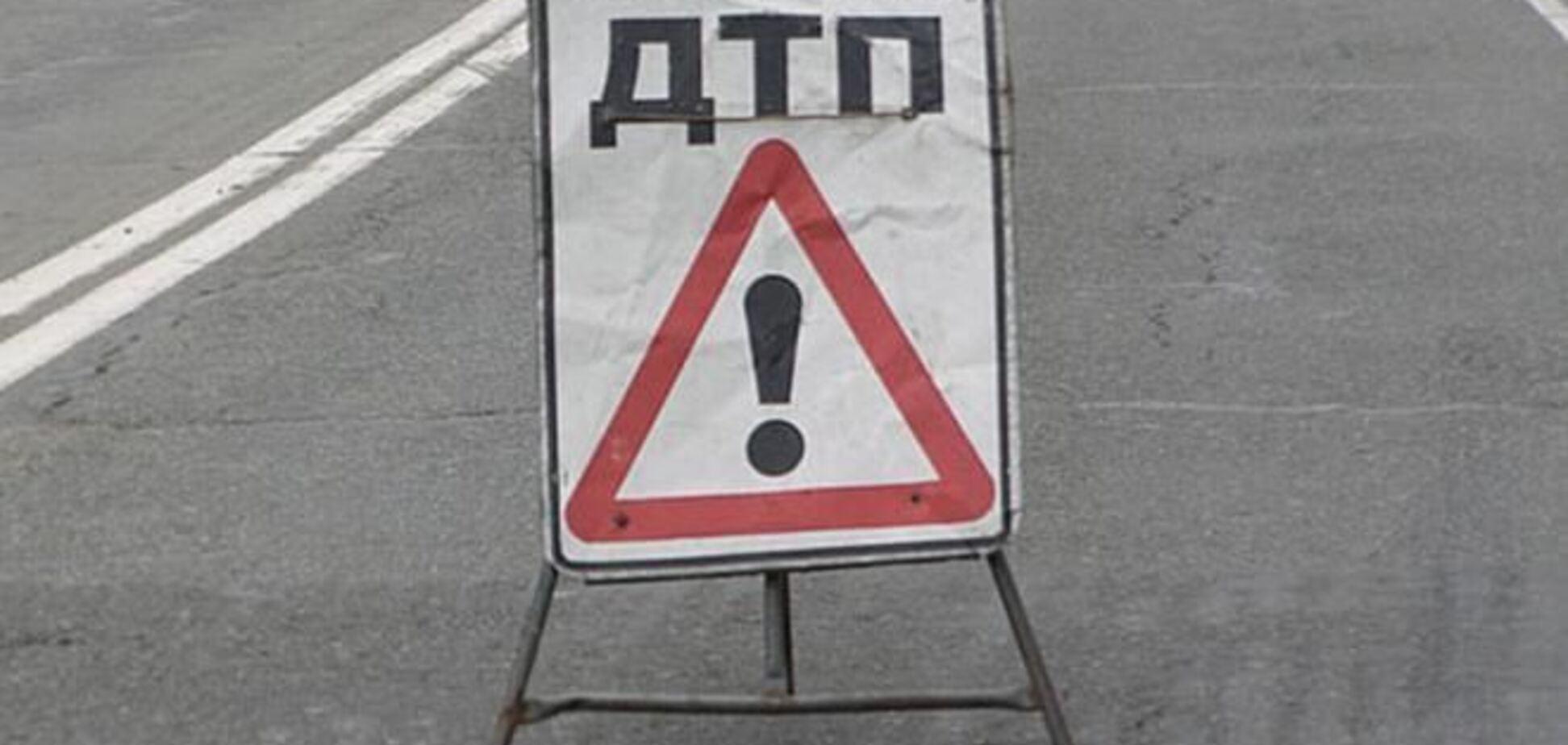 На 'Киев – Чоп' в ДТП разбился немец на иномарке