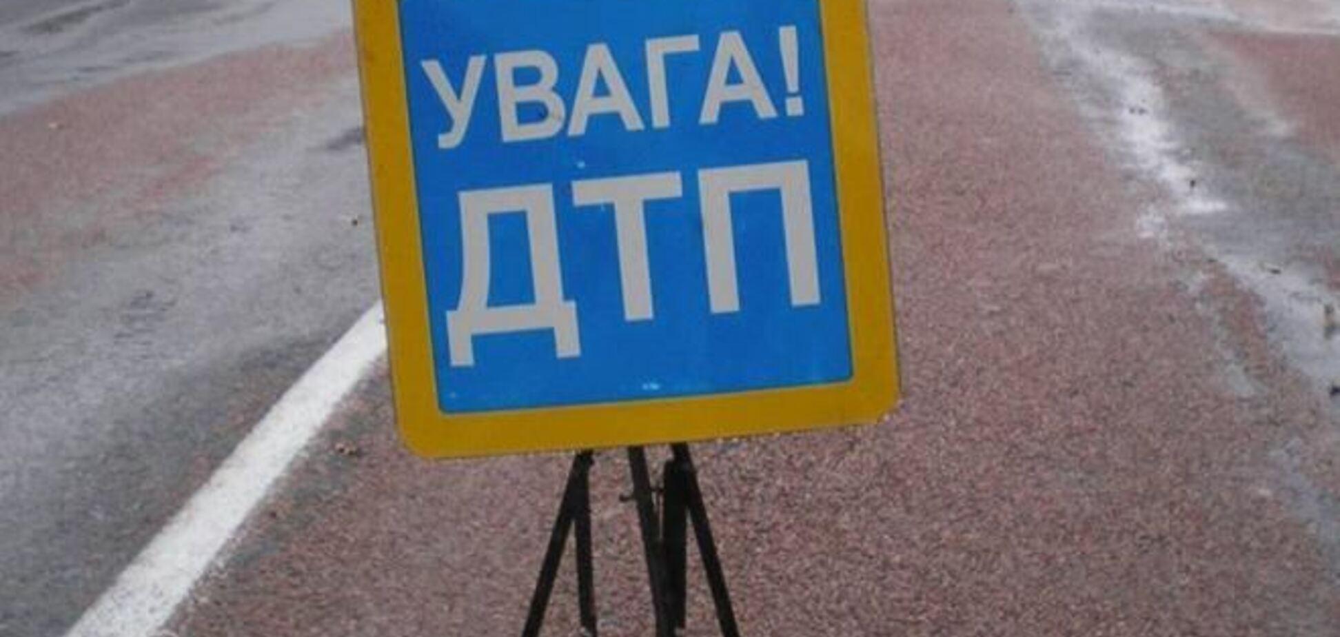 В Ивано-Франковске милиционер устроил ДТП на встречке