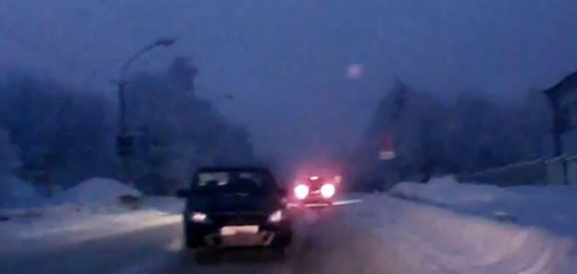 В России машина без водителя устроила ДТП