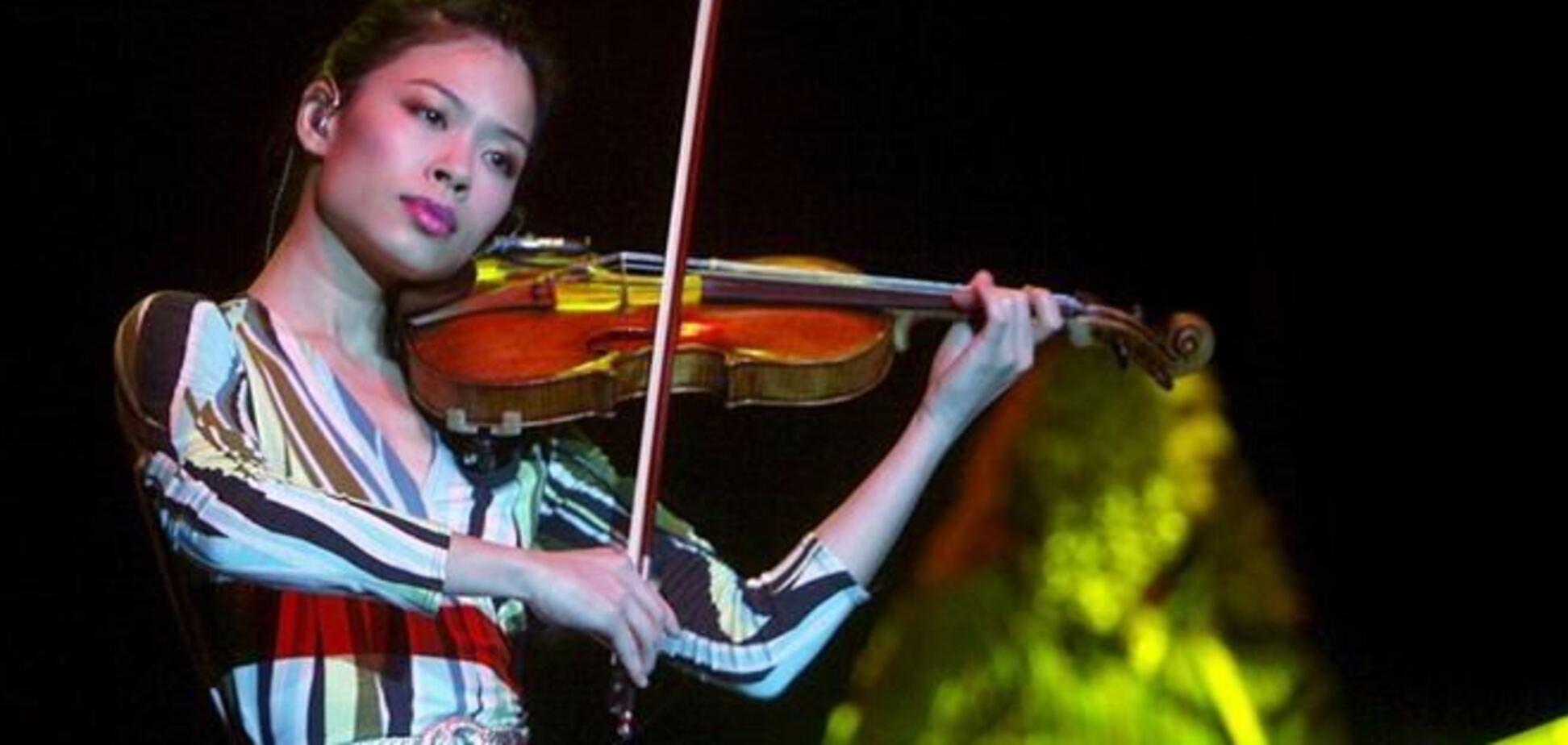 Скрипачка Ванесса Мэй поборется за медаль на Олимпиаде-2014