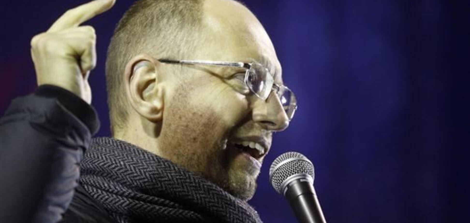 У мережі з'явилося відео, як Яценюка обматюкали на Грушевського